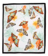 Sarong with Butterfly Pattern