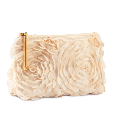 Makeup bag H&M  :  flower spring makeup bag