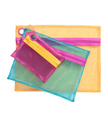 3-pack make-up bags
