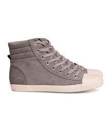 Imitation Leather Sneakers