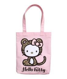 Fabric bag with Hello Kitty