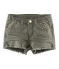Shorts with rivets