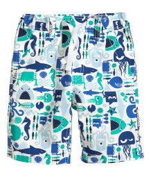 Shorts mit Musterprint