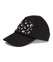 Cap with sparkly stones