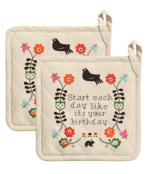 2-pack pot holders