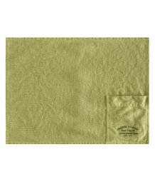Linen table mat