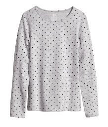 Long-sleeved Jersey Top