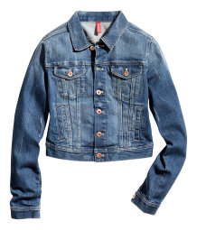 Jacket in stretch denim