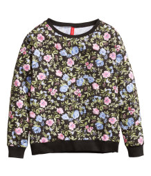 Sweatshirt with a print