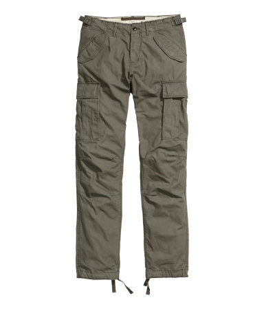 Cargo Pants | Khaki green | Men | H&M US