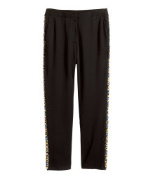 Beaded trousers