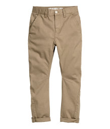 Twisted chinos