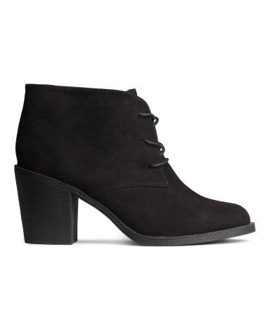 Lace-up Ankle Boots | Black | Women | H&M US