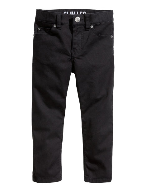 Twill trousers Slim fit