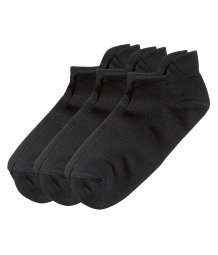 3-pack trainer socks