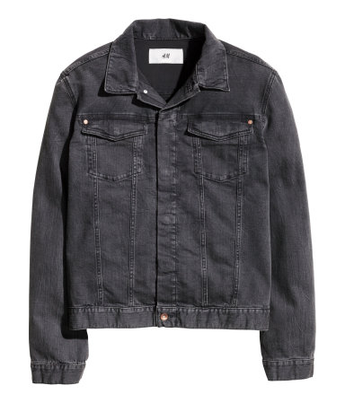 Denim Jacket | Black | Men | H&M US