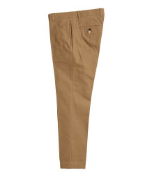 Suit trousers in cotton