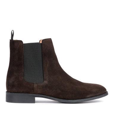 Chelsea Boots | Dark brown | Men | H&M US