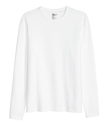 Long & sleeved - T-shirts - Men's Clothing - Shop online | H&M US
