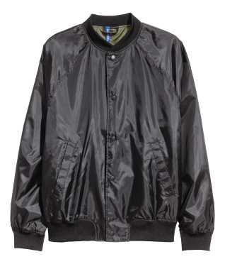 Baseball Jacket | Black | Men | H&M US