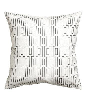Slub Weave Cushion Cover