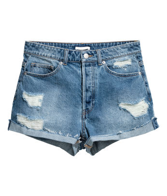 Denim shorts - Women's Clothing - Shop online | H&M US