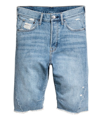 Denim shorts - shorts - Men's Clothing - Shop online | H&M US