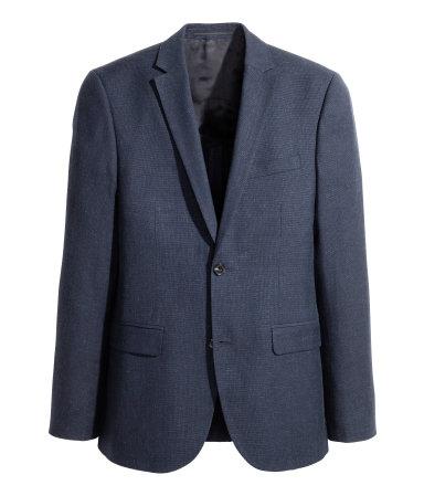 Wool-blend Blazer Slim fit