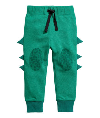 Joggers with Appliqués