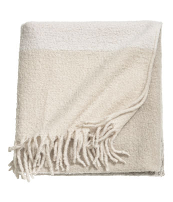 Wool-blend Throw
