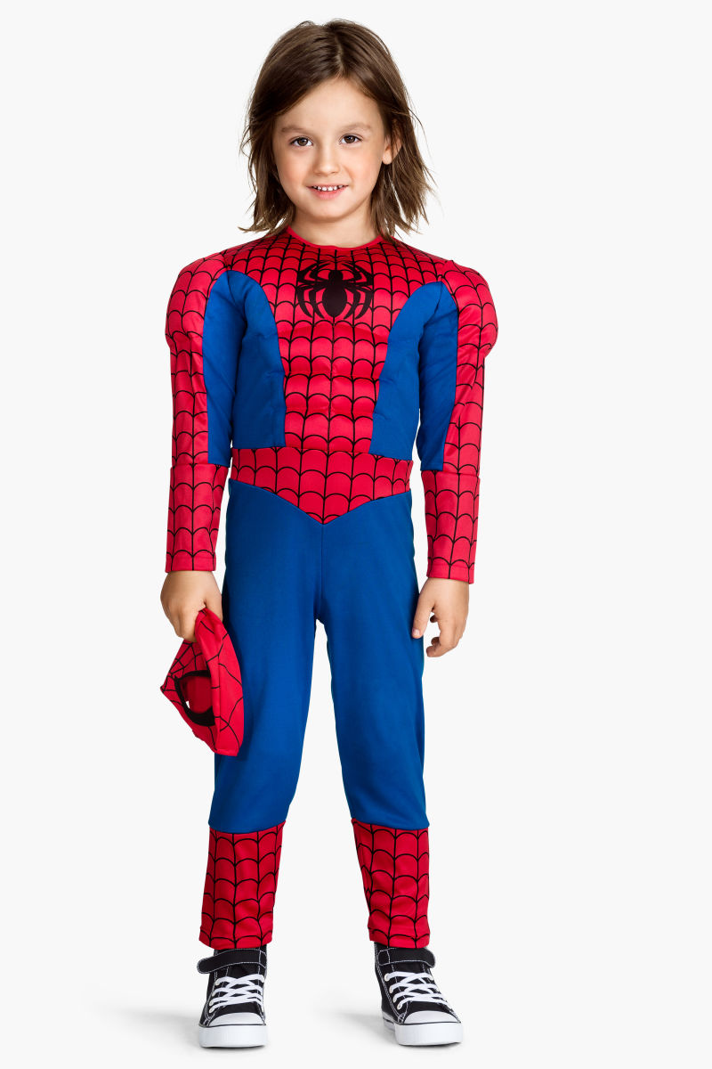 masquerade costume blue spiderman sale h m us. Black Bedroom Furniture Sets. Home Design Ideas