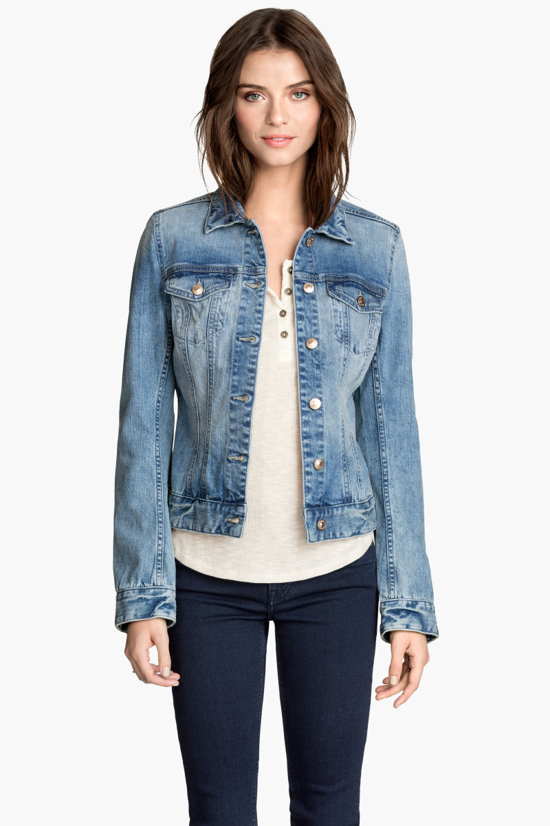 Denim Jacket | Light denim blue | SALE | H&M US
