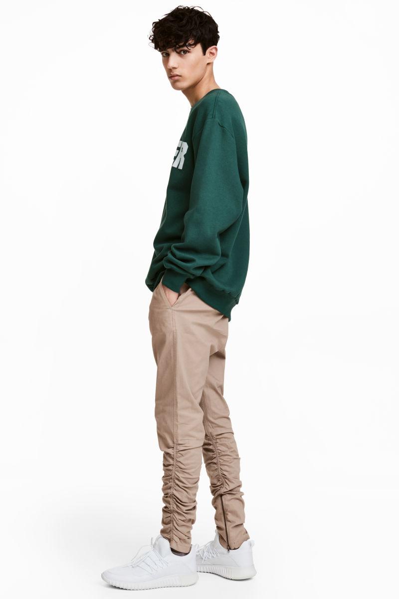 Fashion Sweatpants Men Plain