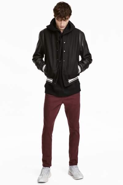 Twill Pants Skinny fit