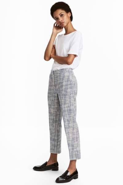 Jacquard-weave Pants