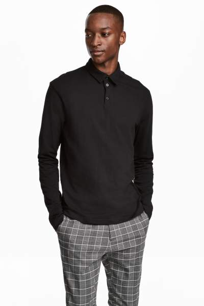 Long-sleeved Shirt Slim fit