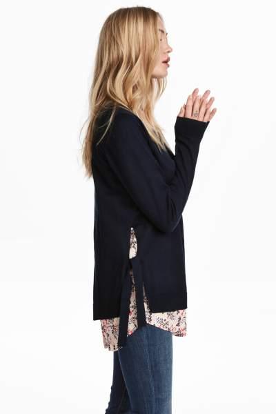 MAMA Fine-knit Nursing Sweater