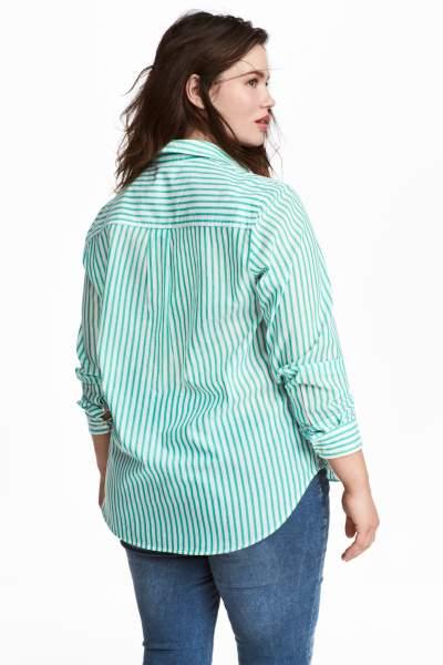 H&M+ Cotton Shirt
