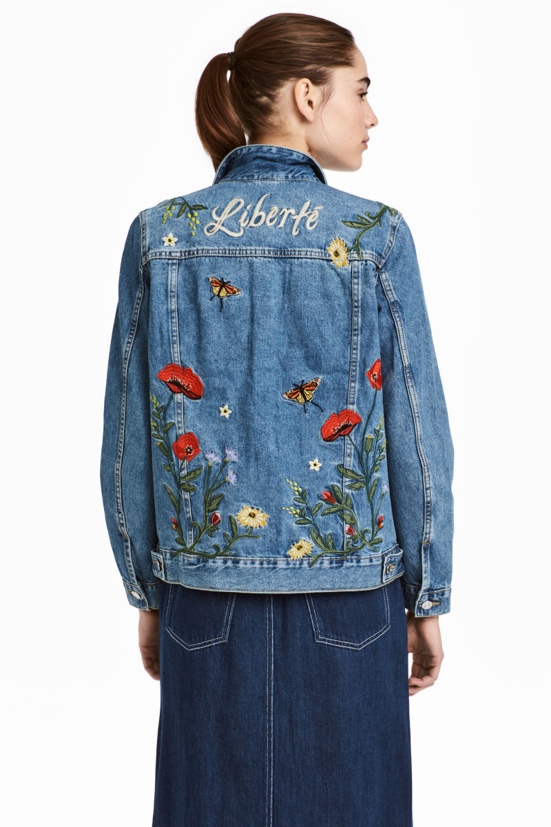 HM Embroidered bomber