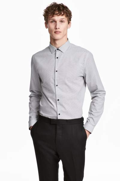 Buy Cotton-blend Shirt Slim fit!