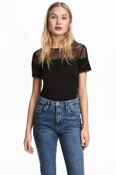 Top with Lace