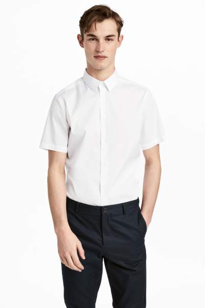 Short-sleeved Shirt Slim fit