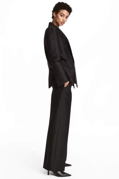 Silk-blend Suit Pants