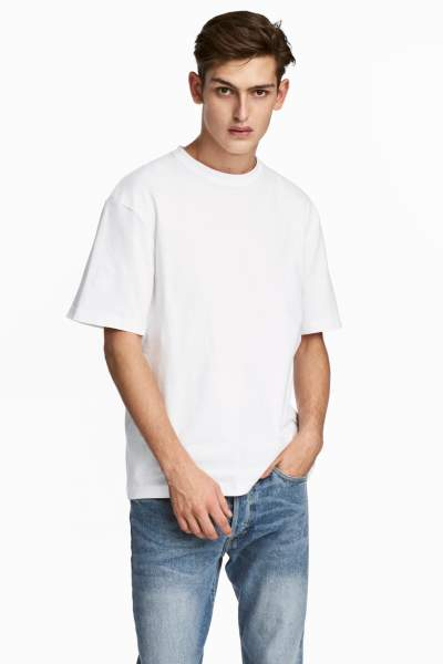 Crew-neck T-shirt Loose fit