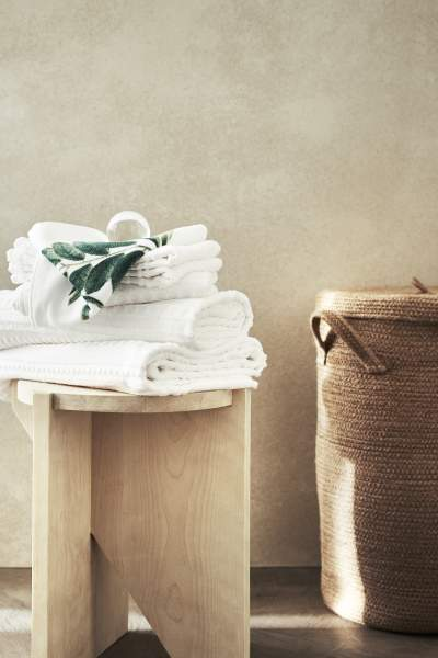 Buy Washed Cotton Fitted Sheet!