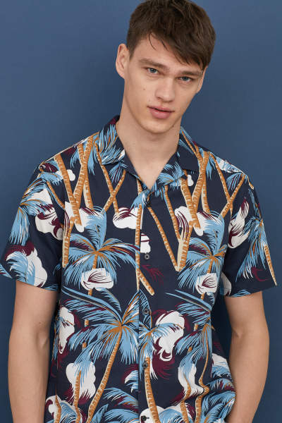 Relaxed Fit Resort Shirt