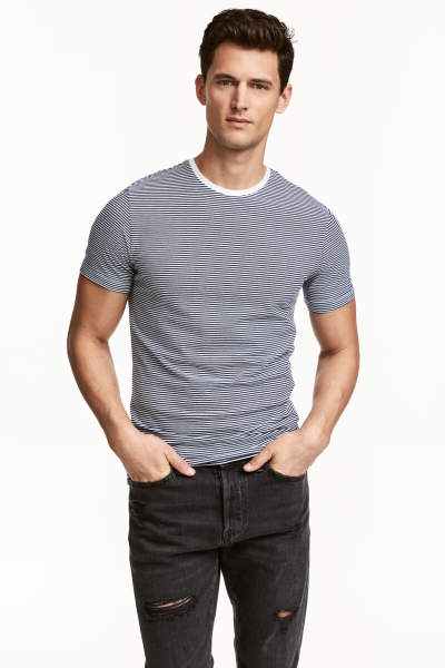 Crew-neck T-shirt Slim fit