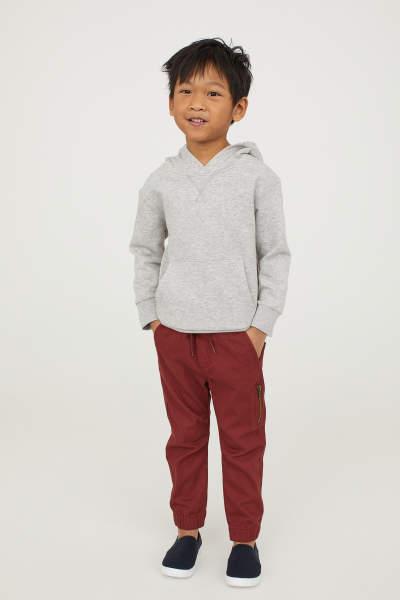 Fine-knit Cotton Shorts