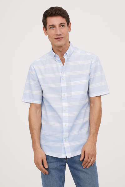 Regular Fit Poplin Shirt