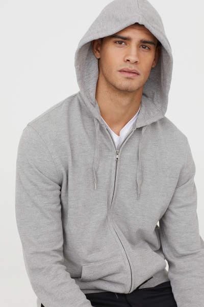Piqué Hooded Jacket